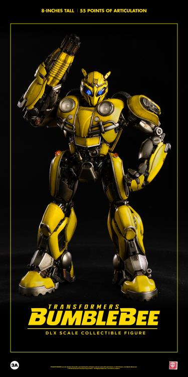ThreeA Toys DLX Scale Collectible Series Transformers Bumblebee Movie - Bumblebee