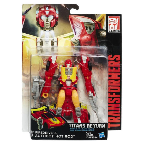 Transformers Titans Return Deluxe - Hot Rod