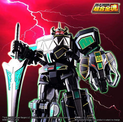 SDCC 2018 Soul of Chogokin Power Rangers GX-72B Megazord Black Version