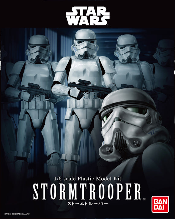 Bandai Star Wars Character Line 1/6 Stormtrooper Model Kit