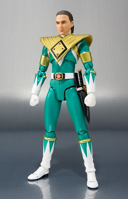 SDCC 2018 S. H. Figuarts Power Rangers - Green Ranger