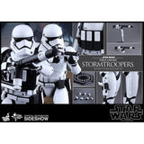 Hot Toys 1/6 Star Wars The Force Awakens: First Order Stormtroopers Set (First Order & Heavy Gunner)