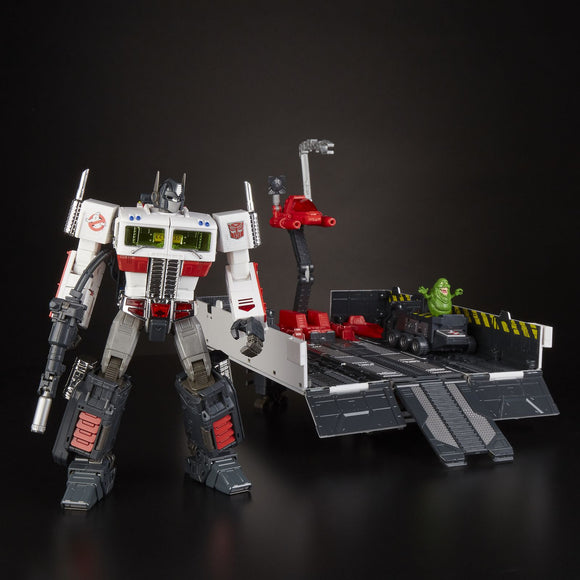 SDCC 2019 Transformers Masterpiece - Optimus Prime Ghostbusters Ecto-35