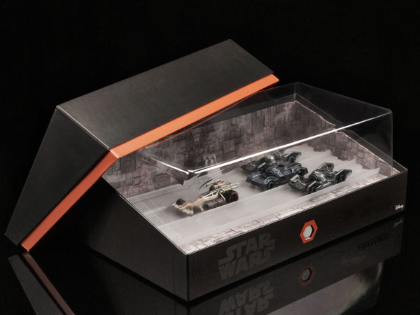 SDCC 2016 HOT WHEELS STAR WARS CARSHIPS TRENCH SET