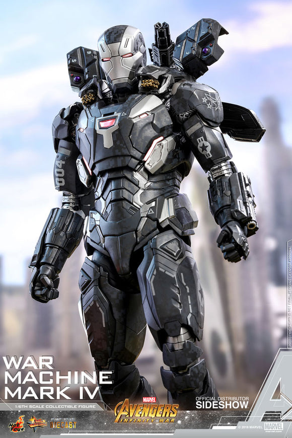 Hot Toys 1/6 Avengers Infinity War: War Machine Mark IV Special Edition