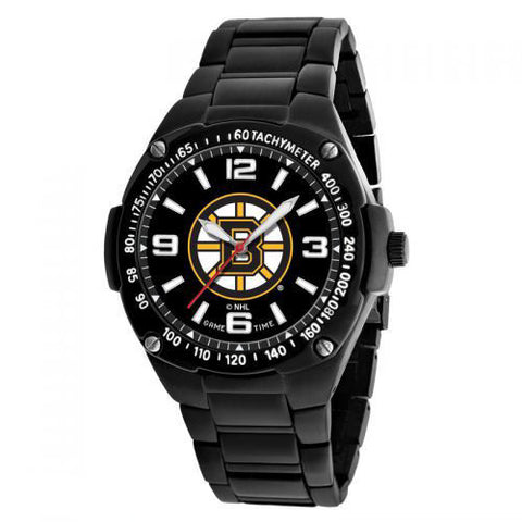 Boston Bruins Watch - Mens Gladiator Black Watch