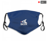 Chicago White Sox Face Mask - Reuseable, Fashionable, Several Styles