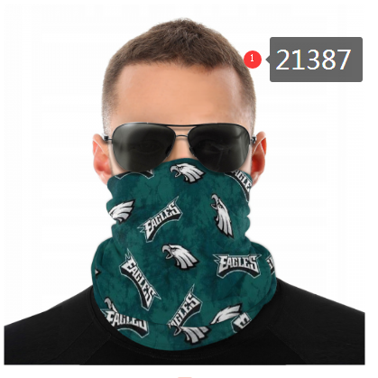 Philadelphia Eagles Face Mask - Bandana Scarf, Reuseable, Washable
