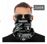 Las Vegas Raiders Face Mask - Bandana Scarf, Reuseable, Washable