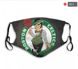 Boston Celtics Face Mask - Reuseable, Fashionable, Washable, Several Styles
