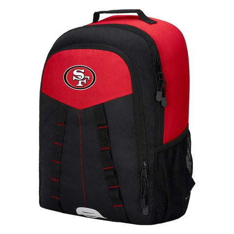 "San Francisco 49ers Backpack - ""Scorcher"" Sports Backpack"