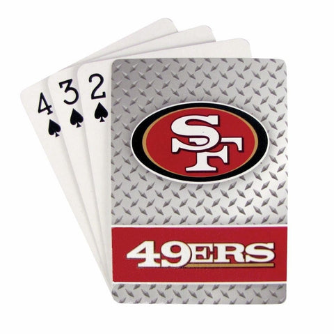 San Francisco 49ers Diamond Plate Playing Cards