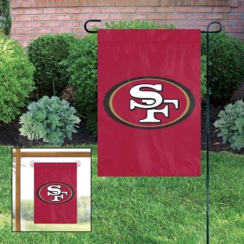 "San Francisco 49ers Indoor/Outdoor 15""x10"" Garden Flag"