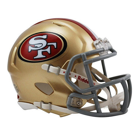 San Francisco 49ers Riddell Speed Mini Helmet