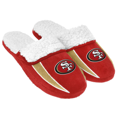 San Francisco 49ers Sherpa Slide Slippers