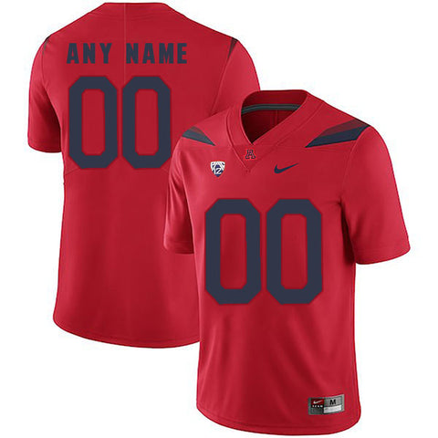 Arizona Wildcats Jersey - Custom Red Jersey - Any Name and Number