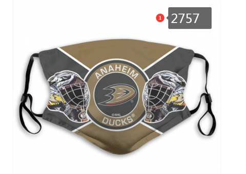 Anaheim Ducks Face Mask - Reuseable, Fashionable, Washable, Several Styles