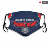 Atlanta Hawks Face Mask - Reuseable, Fashionable, Washable