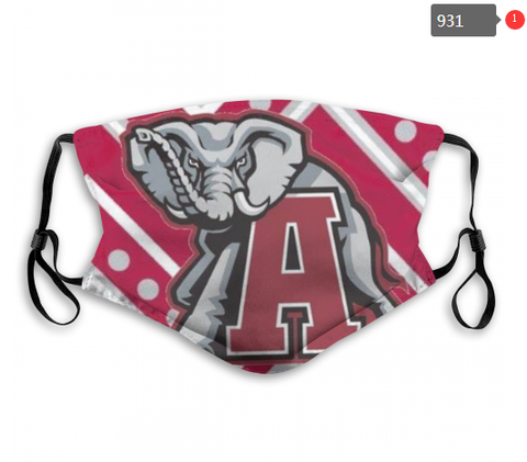 Alabama Crimson Tide Face Mask - Reuseable, Fashionable, Several Styles