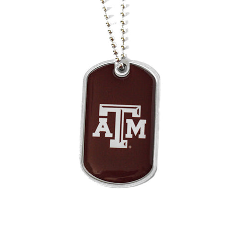 Texas A&M Aggies Dog Tag Necklace