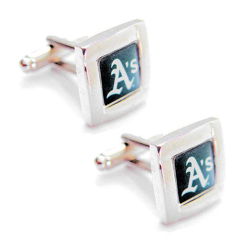 Oakland Athletics Square Cuff Links