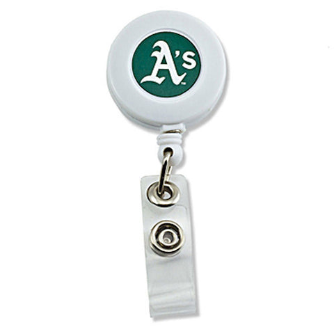 Oakland Athletics Retractable Badge Reel