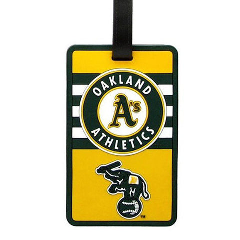 Oakland Athletics Luggage Tag