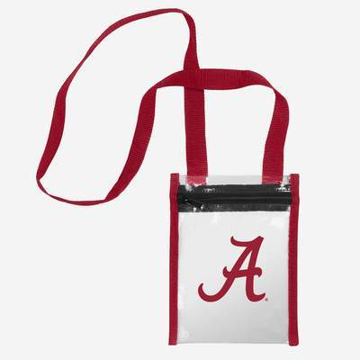 Alabama Crimson Tide Tote Bag - Clear Crossbody
