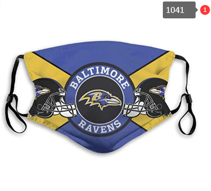 Baltimore Ravens Face Mask - Reuseable, Fashionable, Several Styles