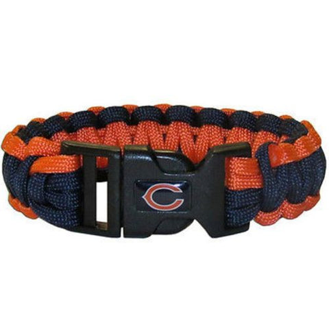 Chicago Bears Bracelet - Survivor Paracord Bracelet