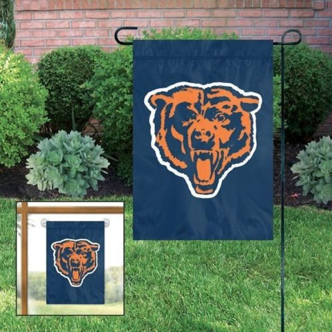 "Chicago Bears Flag - Indoor/Outdoor 15""x10"" Garden Flag"