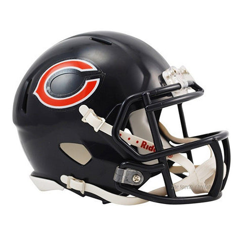 Chicago Bears Helmet - Riddell Speed Mini Helmet