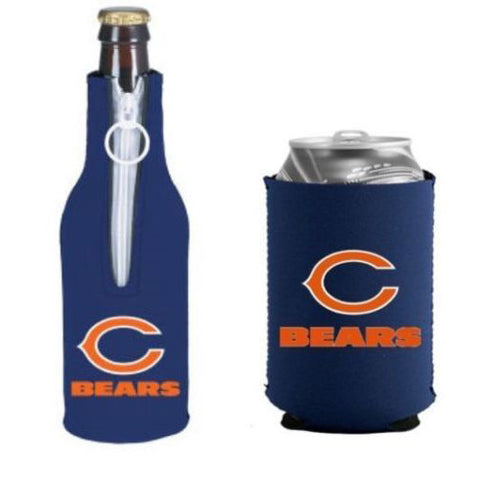 Chicago Bears Koozie - Can & Bottle Koozie Combo