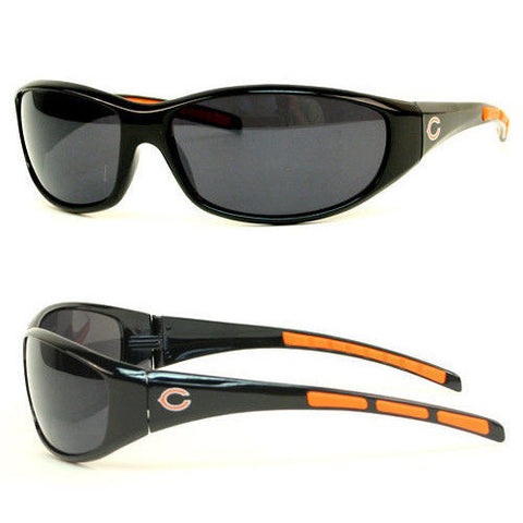 Chicago Bears Sunglasses - 3 Dot Team Logo Series Sport Sunglasses
