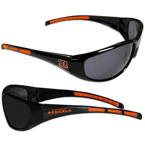 Cincinnati Bengals Sunglasses - 3 Dot Team Logo Series Sport Sunglasses