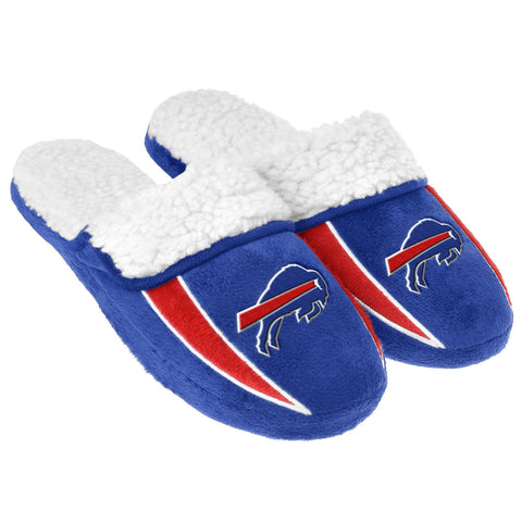Buffalo Bills Slippers - Sherpa Slide Slippers