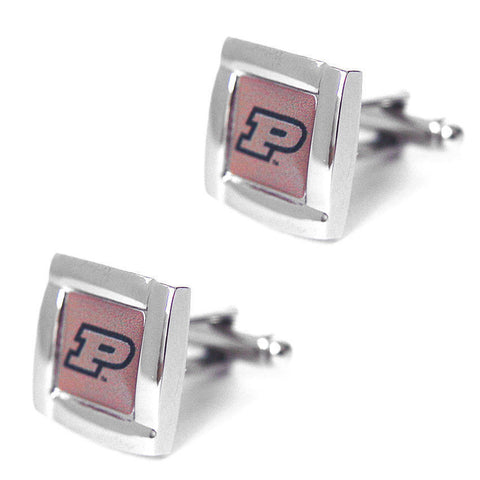 Purdue Boilermakers Square Cuff Links
