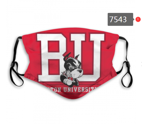 Boston University Face Mask - Reuseable, Fashionable, Washable