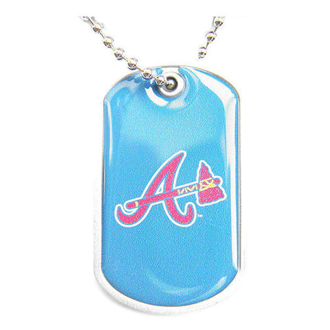 Atlanta Braves Necklace - Dog Tag Necklace