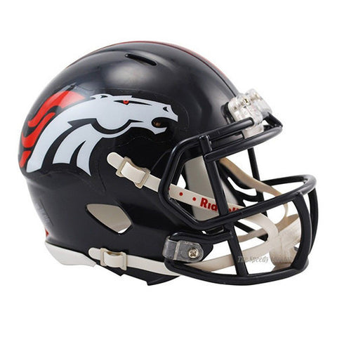 Denver Broncos Helmet - Riddell Speed Mini Helmet