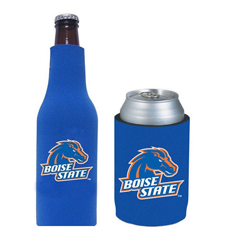 Boise State Broncos Koozie - Can & Bottle Koozie Combo