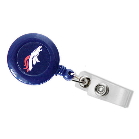 Denver Broncos Lanyard - Retractable Lanyard W/ Clip