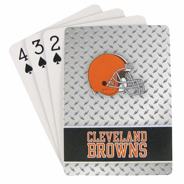 Cleveland Browns Diamond Plate Playing Cards