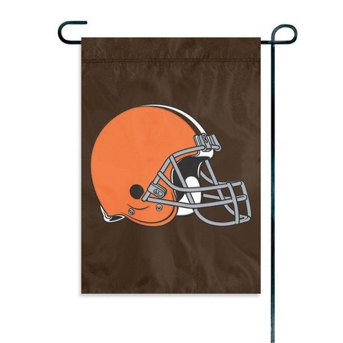 "Cleveland Browns Flag - Indoor/Outdoor 15""x10"" Garden Flag"