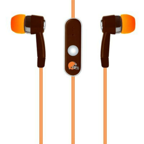 Cleveland Browns Ear Buds With Microphone