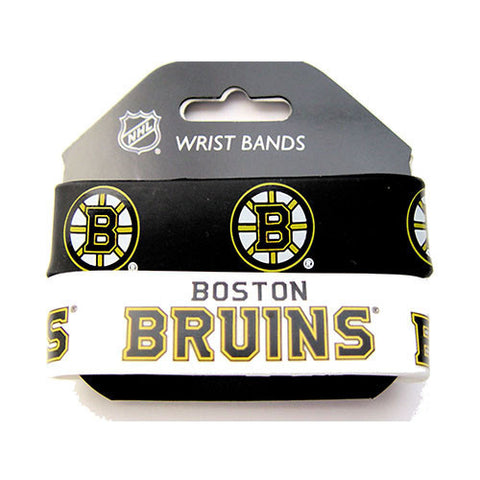 Boston Bruins Bracelet - Rubber Wrist Bands