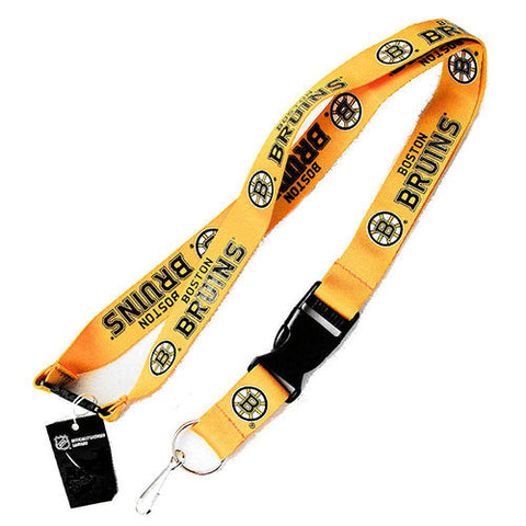 Boston Bruins Lanyard - Detachable Keychain