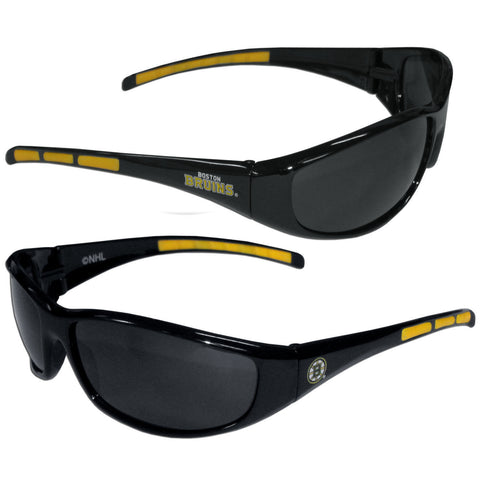 Boston Bruins Sunglasses - 3 Dot Team Logo Series Sport Sunglasses