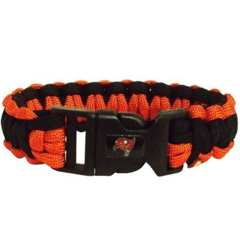 Tampa Bay Buccaneers Survivor Paracord Bracelet