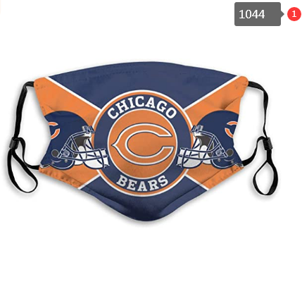 Chicago Bears Face Mask- Reuseable, Fashionable, Several Styles